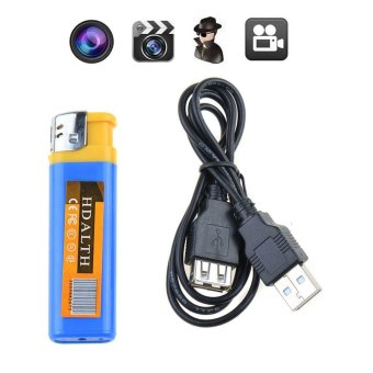 Lighter Shape Spy DVR Hidden Camera Cam Camcorder with USB Cable Digital Video Recorder - intl