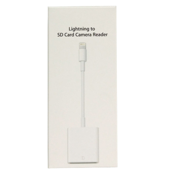 Lightning to SD Card Camera Reader Adapter Cable for iPhone 5s 6Plus iPad 4 Mini Air