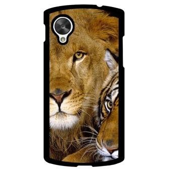 Lion King Pattern Phone Case for LG Nexus 5 (Black)