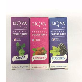 Liqua E/juice For Electronic Cigarette(Grape/Strawberry/Blackberry)