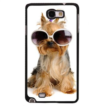 Little Puppy Phone Case for Samsung Galaxy Note 1 (Black)