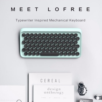 Lofree Dot Bluetooth Mechanical Keyboard Wireless Backlit Round button for ipad/Iphone/Macbook/PC computer/Android Tablet - intl