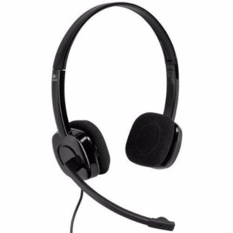Logitech H151 Noise Cancelling Mic Stereo Headset (Black)