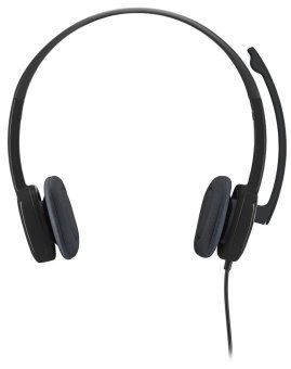 Logitech H151 Stereo Headset with Noise Cancelling Mic
