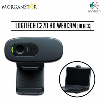 Logitech HD Webcam C270 (Black)