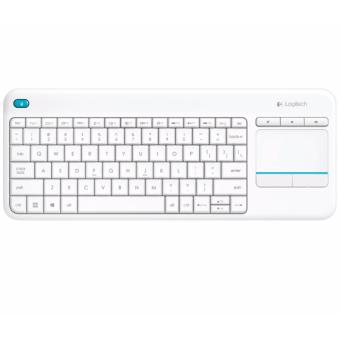 Logitech K400 Plus Wireless Touch Keyboard (White)