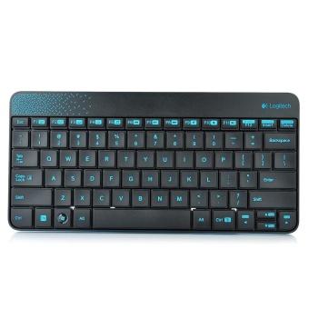 Logitech MK240 79-Key Wireless Keyboard w/ 1000dpi Mouse - Black +Blue (4 x AAA) - intl - 5
