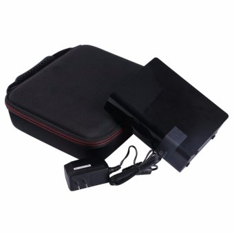 LTGEM Hard EVA Storage Carrying Case for Western Digital WD MyBook, WD My Cloud 2TB, 3TB, 4TB, 6TB, 8TB Desktop External HardDrive Fitting USB Cable and Charger - 5
