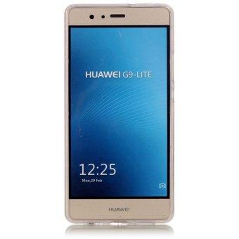 Luminous Effect TPU Phone Back Case Cover For Huawei P9 Lite (PlumBlossom) - intl