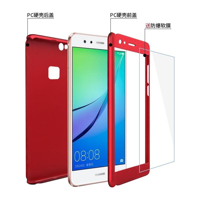 ... Luxury 360 Degree Full Body Protection Cover Case For Huawei P10Lite / Huawei Nova Lite ...