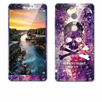 Luxury 3D Painting Front+Back Full Case Cover Color Tempered Glass Case For Xiaomi Redmi Note 4X Screen Protector Film (Color-1) - intl
