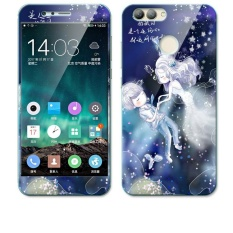 Luxury 3D Painting Front+Back Full Case Cover Color Tempered GlassCase For Huawei Nova 2