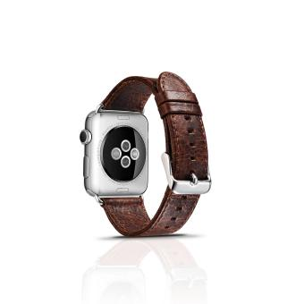 Luxury Leather Watch Band Strap For Apple Watch (38mm)