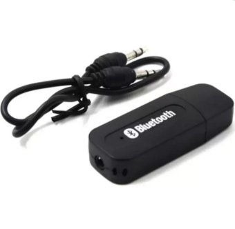 M-1 USB Bluetooth Wireless 3.5mm Stereo Music Receiver Adapter ForSpeaker (Black)