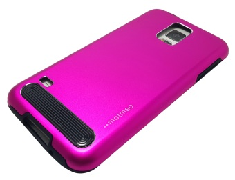 M-Series Metal Case for Samsung Galaxy S5 (Pink)
