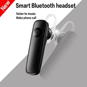 M165 Wireless 4.1 Bluetooth Earphone Hands-free Stereo Headset withNoise Cancelling MIC All Mobile Phone and Other Bluetooth Devices -Black - intl