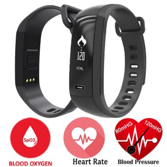 M2 Smart Band Heart Rate Monitor Blood Pressure Pulse MeterBracelet Fitness Smartwatch Smartband for iOS Android Phone - intl