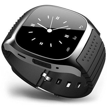 M26 Bluetooth Smart Watch for Android Samsung Phone (Black) - 2