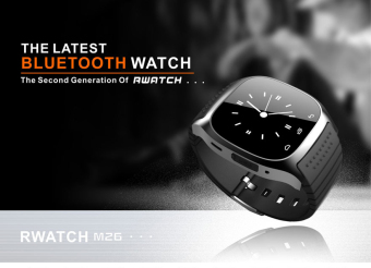 M26 Bluetooth Smart Wrist Watch Sync Phone Mate For IOS AndroidiPhone Samsung