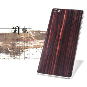 M5 Natural Bamboo glass phone case back cover