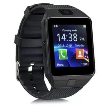 M9 Phone Quad Smart Watch (Black) With Free Led Bracelet Watch(Black) - 2