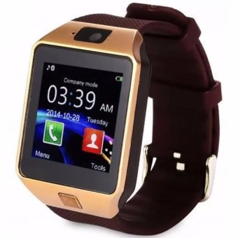M9 Phone Quad Smart Watch (Gold)