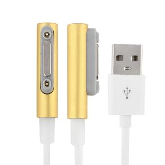 Magnetic Charging Cable W/LED For Sony Xperia Z3 L55t Z2 Z1 CompactXL39h Gold