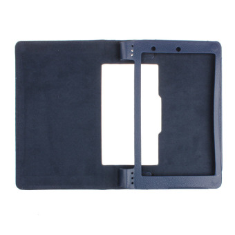 Magnetic Flip Leather Cover Case Holder For Lenovo Yoga 8 B6000 Tablet Blue