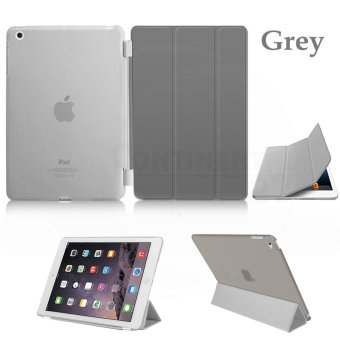 Magnetic Slim Leather Smart Cover Hard Back Case For Apple iPadmini 1 2 3 - intl