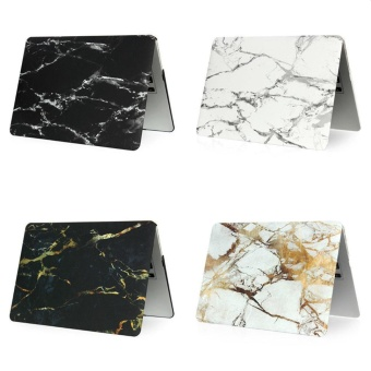 Marble Pattern Mac Book Cover Protective Laptop Case For AppleMac-book Retina 15.4 Inch - intl Price Philippines