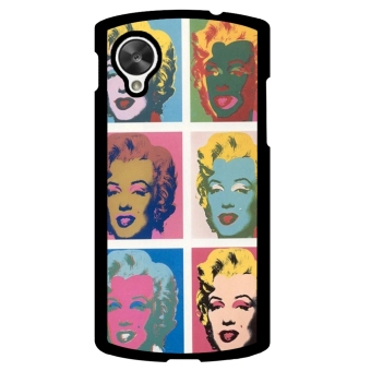 Marilyn Monroe Pattern Phone Case for LG Nexus 5 (Multicolor)