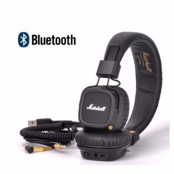 Marshall Major II Bluetooth Wireless Foldable Headphones with Built-in Microphone and Remote - intl Price Philippines