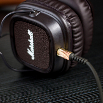 Marshall Major II On-Ear Headphones (Brown) - picture 2