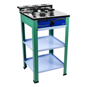 Marubishi 3.0Ft. Single Stove Gas Cooker MGS-223 (Stainless/White/Green) Price Philippines