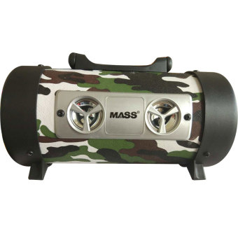 Mass MS-1045BT Digital Subwoofer Professional Audio BluetoothPortable Speaker (Camouflage)