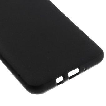 Matte Gel TPU Case for Samsung Galaxy J7 2016 (Black) - intl - 4