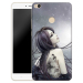 Max2 cartoon silicone transparent cartoon case phone case