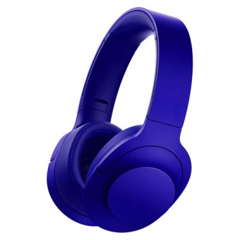 MDR-100ABN 103dB Stereo Subwoofer Wireless Bluetooth Headset (Blue)