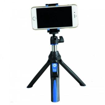 MeFoto MK10 2-in-1 Portable Selfie Stick with Mini Tripod (Blue) - 2