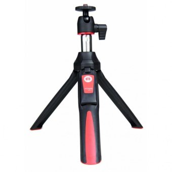 MeFoto MK10 2-in-1 Portable Selfie Stick with Mini Tripod (Red)