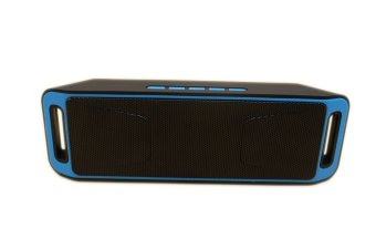Megabass A2DP Stereo Wireless Bluetooth Dual Speaker (Blue)