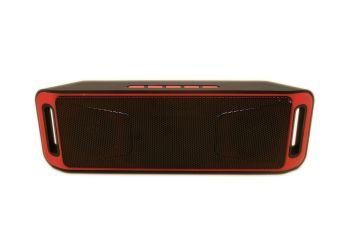 Megabass A2DP Stereo Wireless Bluetooth Dual Speaker Red