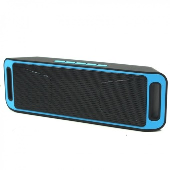 Megabass SC208 A2DP Bluetooth Wireless Stereo Speaker (Blue)