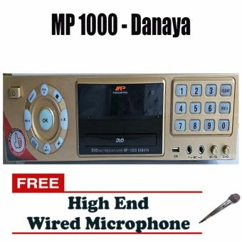 Megapro MP-1000 Danaya w/ 30,000 Songs Echo Magic Sound KaraokePlayer (Gold) Price Philippines