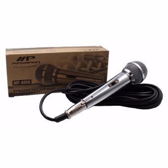 Megapro MP-8000 Dynamic Microphone (Silver)