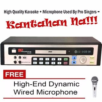 Megapro Plus Jacob Karaoke DVD Player Up to 17,000 Songs with FreeHigh-End Dynamic Wired Microphone