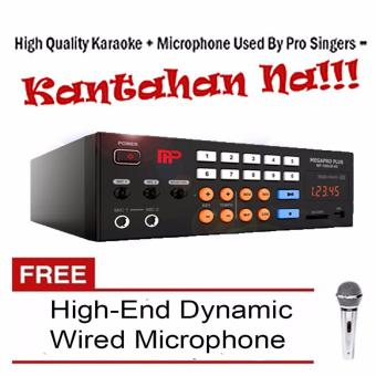 Megapro Plus MP-7000JB NS 1TB HDD Karaoke Player Up to 30,000 Songs& MTV with Free High-End Wired Microphone Price Philippines