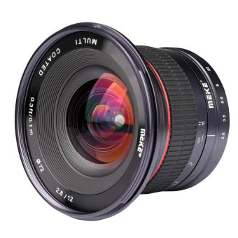 Meike 12mm f/2.8 Ultra Wide Angle Fixed Lens for Sony Mirrorless E-Mount Camera - intl