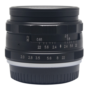 Meike 50mm f2.0 Large Aperture Manual Multi Coated Focus Lens Aps-C for Fujifilm Mirrorless Cameras X-a1 X-a2 X-e1 X-e2 X-e2s X-m1 X-t1 X-t10 X-pro1 X-pro2