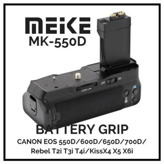 MeiKe MK-550D BG-E8 Battery Grip for Canon 550D 600D 650D 700D T2i T3i T4i
